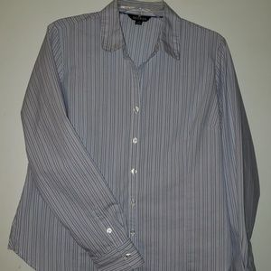 George Woman's Button Down Blouse  Size L (12-14)